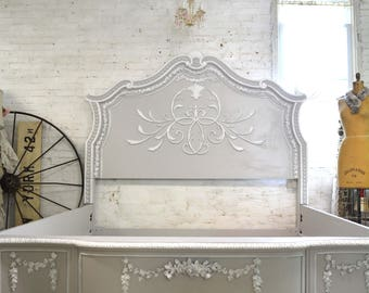 Painted Cottage Romantic French  Queen / King / Bed
