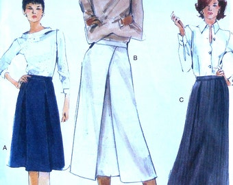 Skirt Sewing Pattern UNCUT Vogue 9951 Sizes 12-16