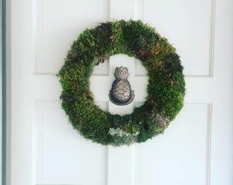 Wild Harvested Moss Wreaths