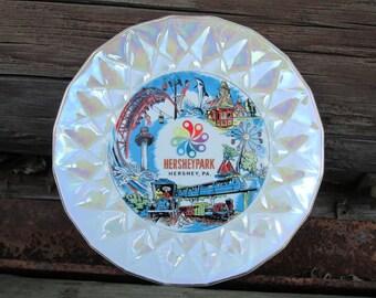 Hershey Park Souvenir Plate Vintage Decorative Pennsylvania PA