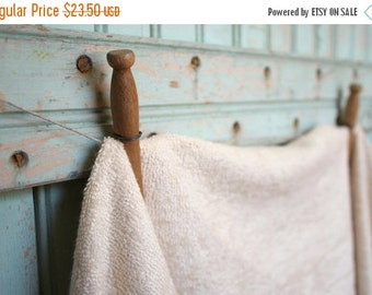 Holiday SALE Organic Terry Cloth Fabric By the Yard Terrycloth Knit Towel Fabric Made in the US & Certified GOTS Organic - Eco Friendly Fabr