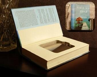 Hollow Book Safe & Flask (Fresh Air Fiend)