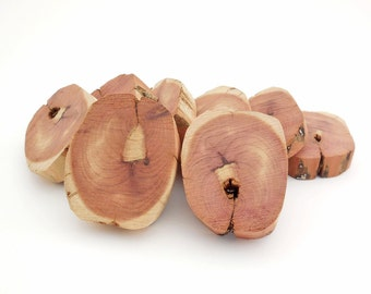 Cedar Wood Pieces, 8 wood pieces for crafts