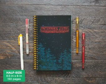 Stranger Things Planner / Weekly / Half-Size / 12 Months / Choose Your Layout (Vertical or Horizontal) / Pick Your Own Starting Month