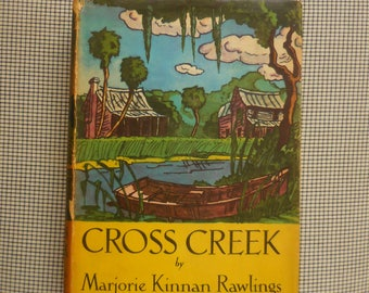 Cross Creek First Edition 1942 Marjorie Kinnan Rawlings