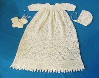 Rose Trellis Christening Gown