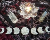 Alchemy, phases of the Moon, charms, talisman, amulet, altar stones, Goddess, Divine Feminine, magic, witchcraft, rituals, spells, tools