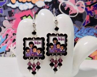 Beatles Comical Dangle Earrings
