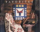 Quilt in a Day Star Spangled Favorites Eleanor Burns 2002 Softcover, Quilting Sewing Sew Craft Hobby