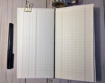 Traveler's Notebook Printable Papers, Ledger Papers, Midori Inserts, Bullet Journal Standard Size
