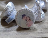 Personalized Picture Hershey Kiss Sticker