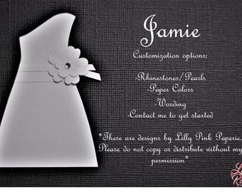 "Will You Be My Bridesmaid - The ""Jamie"" Design"