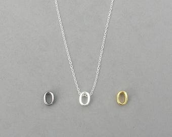 Initial o Necklaces
