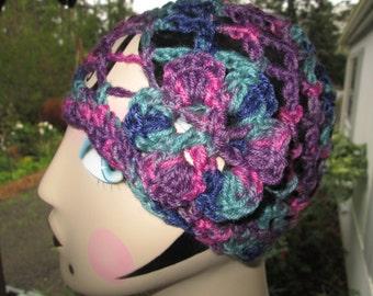 Flapper Hat Crocheted by SuzannesStitches, Toddler Cloche Hat, Hats for Children, Teen Cloche Hat, Womens Flapper Hat, Chemo Hat, Beach Hat