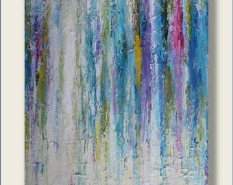 Oil Abstract Painting, Oil Painting, Abstract Painting, Modern Painting, Contemporary Painting, Palette Knife Painting Oil Artwork