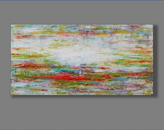 Acrylic Abstract Painting, Acrylic Painting,  Modern Painting, Contemporary Painting, Palette Knife Painting Acrylic Artwork
