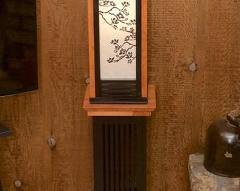 Prairie Mission Shoji Lantern w/ Stand