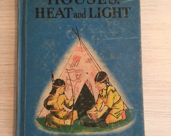 Hpusea and light vintage childrens books
