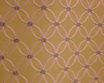 Citrus Green/ Gray/White Designer Home Decor Remnant