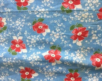 Vintage Feedsack Fabric 2