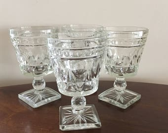 colony park lane water glasses set of 4