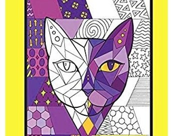 Here Kitty An Adult Coloring Book for Cat Lovers