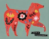 Dog, Canus Familiaris/Folk Science Series by Sarah Walsh