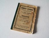 Vintage Herb Alternative Book in Czech Language 1939