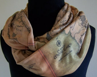 Lord of the Rings Knit Infinity Scarf
