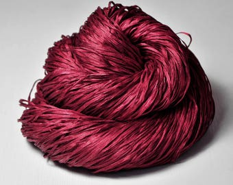 Poisoned blood - Silk Tape Lace Yarn - SUMMER EDITION