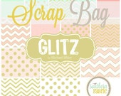 Glitz - Scrap Bag Quilt Fabric Strips by Michael Miller