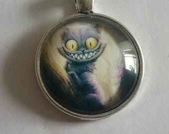 Evil Cheshire Cat Necklace