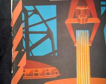 1948 FORTUNE Magazine Art Deco Stirrings in Steel Cover.