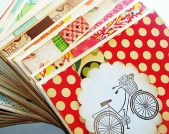 Handmade Cards Wholesale // Includes 100 Assorted Cards with Envelopes // Custom Card Set. Any 100 Cards of Your Choice of Occasion.