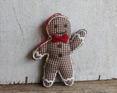 Adorable Gingerbread Man Christmas Ornament