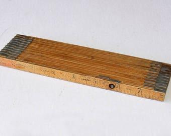 Vintage 71 Inch Sliding Measure Ruler