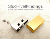 4sets 18mm (inside) END STRAP with 2 Screws Bag Purse Hardware Findings