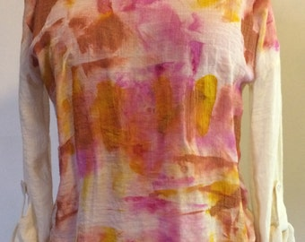 Hand Painted Blouse for Women