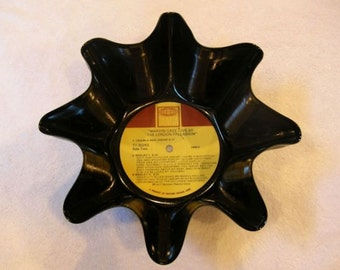 Marvin Gaye Record Bowl Made From Repurposed Vinyl Album