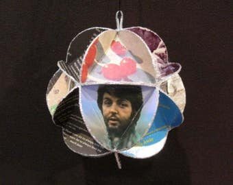 Paul McCartney Album Cover Ornament Made Of Record Jackets - Beatles Wings Band
