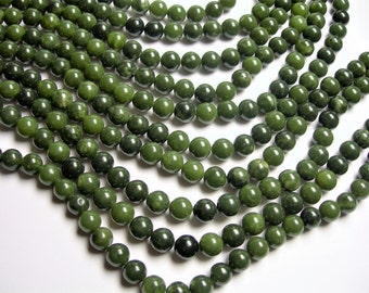 Jade -  10mm - round  - A quality - 39  beads - full strand - RFG1191