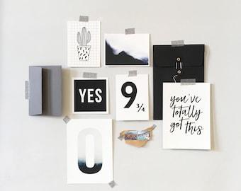 Motivational Mood Board Kit