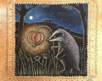 The Magic Lantern greeting card