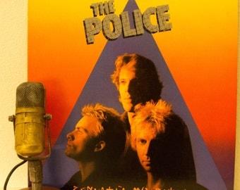 "ON SALE The Police Vinyl Record 1980s Pop Sting ""Zenyatta Mondatta""(1980 A&M Records w/""Don't Stand So Close To Me"",""De Doo Doo Doo De Da Da"
