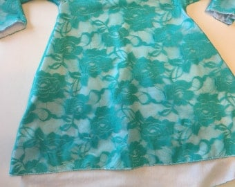 PRE-ORDER Your Easter dress or a new spring dress for your little girl? Bamboo w/beautiful lace overlay.