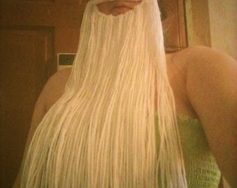 Dwarf Beard, LARP Beard, Yarn Beard, Cosplay, Costume, Wizard, Wizard Beard, Fantasy, Reenactment, Made to Order