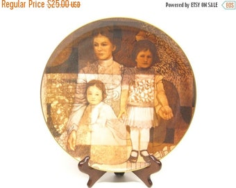 HALF OFF Collectors Plate Tom Heflin Try To Remember Painting Limited Edition