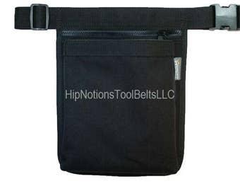 Ipad Otterbox Black Cordura Nylon 2 Pocket HipNotions Tool Belt