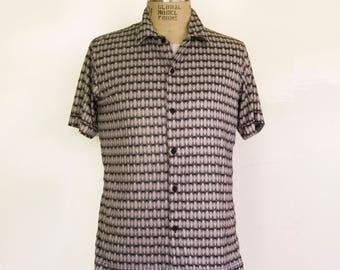 Vintage Optical Short Sleeve Shirt