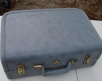 Vintage Blue Cosmetic Case by Taperlite